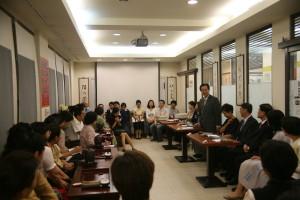 20070610第34届泡茶师考试在台北陆羽茶艺中心(背景灰轴)