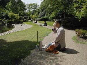 无我茶会伦敦荷兰花园