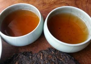 现代茶思想普洱茶汤
