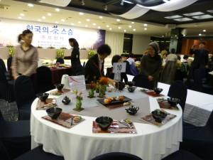 现代茶思想韩国茶席b
