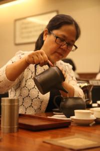 茶道艺术家茶汤作品许玉莲