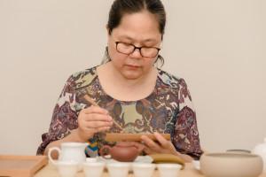 3广州许玉莲茶道课程